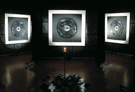 """The exhibition of Irina Machitski's paint and graphic works  """"The Music of the Spheres"""" in  CHA"""