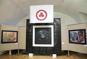 """Opening of the exhibition """"The Opening of the Gates of Heaven"""" of the artist Irina Machitski"""