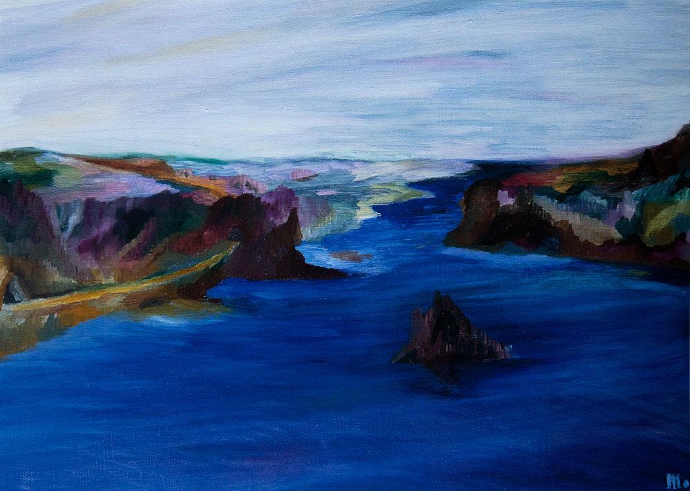 Irina Machitski. The Breath of the Earth. Breathe in