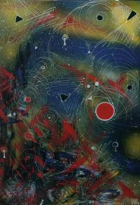 "Irina Machitski. Series ""Improvisation ""Flight"" #1"