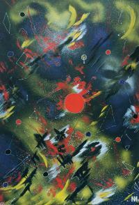 "Irina Machitski. Series ""Improvisation ""Flight"" #2"
