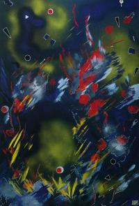 "Irina Machitski. Series ""Improvisation ""Flight"" #3"
