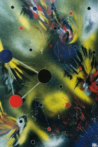 "Irina Machitski. Series ""Improvisation ""Flight"" #5"