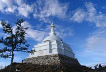 All Auspicious Stupa of Great Awakening: bestower of Liberation upon sight